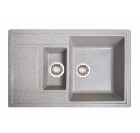 Мойка для кухни Solid Практик (серый) 780x510mm