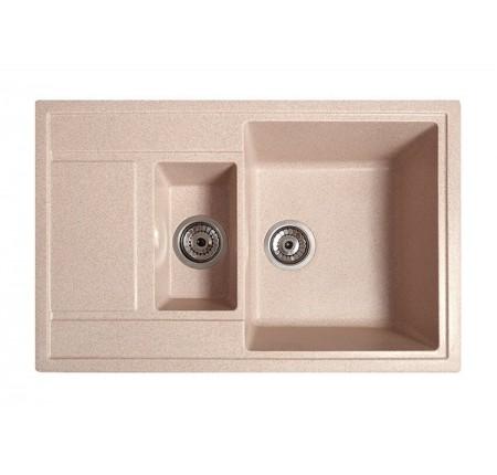 Мойка для кухни Solid Практик (розовый) 780x510mm