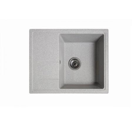 Мойка для кухни Solid Силика (серый) 580x470mm