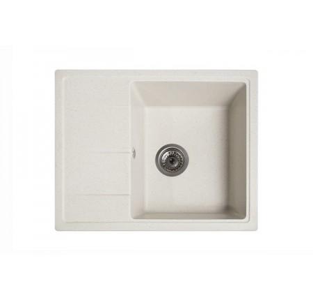 Мойка для кухни Solid Силика (белый) 580x470mm
