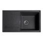 Мойка для кухни Solid Тотал (чёрный) 860x510mm