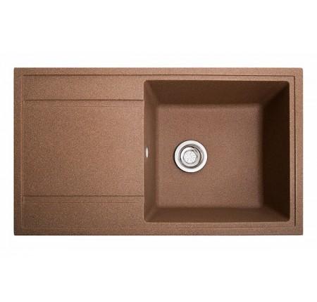 Мойка для кухни Solid Тотал (терракот) 860x510mm