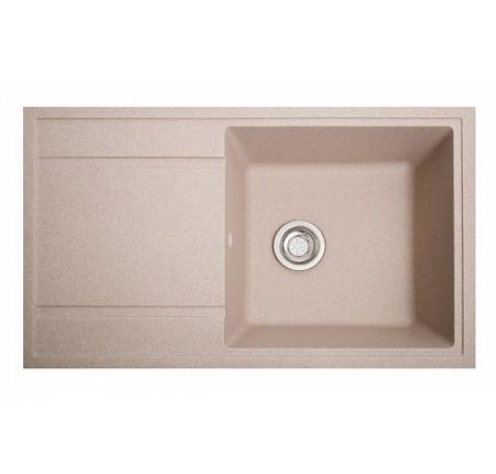 Мойка для кухни Solid Тотал (розовый) 860x510mm