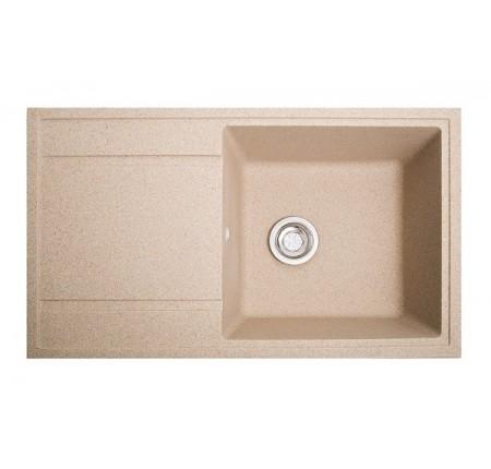 Мойка для кухни Solid Тотал (песок) 860x510mm