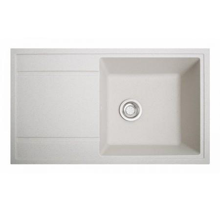 Мойка для кухни Solid Тотал (белый) 860x510mm