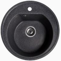 Мойка для кухни Solid Классик (чёрный) D510mm