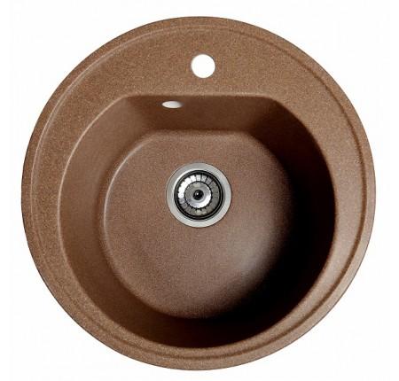 Мойка для кухни Solid Классик (терракот) D510mm
