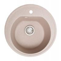 Мойка для кухни Solid Классик (розовый) D510mm