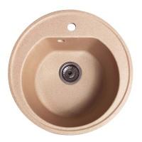 Мойка для кухни Solid Классик (песок) D510mm