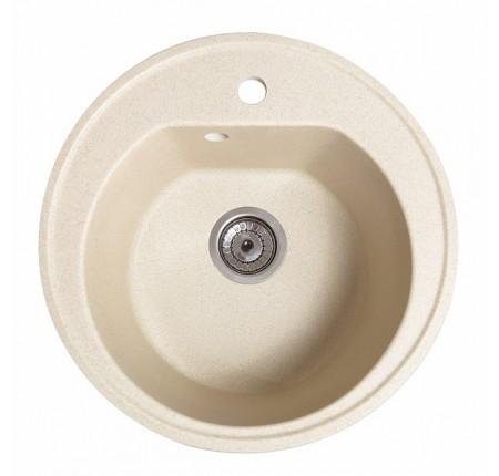 Мойка для кухни Solid Классик (жёлтый) D510mm