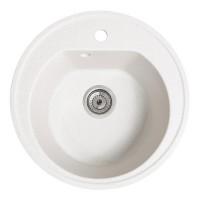 Мойка для кухни Solid Классик (белый) D510mm