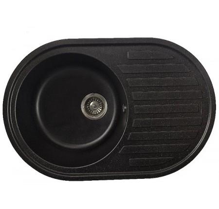 Мойка для кухни Solid Элегант (чёрный) 770x500mm