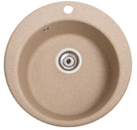Мойка для кухни Solid Пони (песок) D475mm
