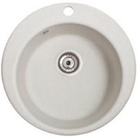 Мойка для кухни Solid Пони (белый) D475mm