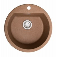 Мойка для кухни Solid Раунд (терракот) D510mm