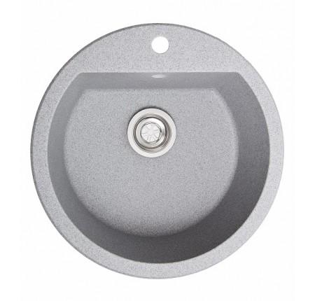Мойка для кухни Solid Раунд (серый) D510mm
