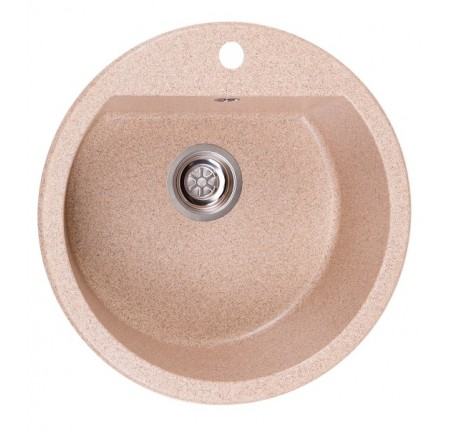 Мойка для кухни Solid Раунд (розовый) D510mm