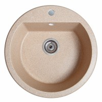 Мойка для кухни Solid Раунд (песок) D510mm