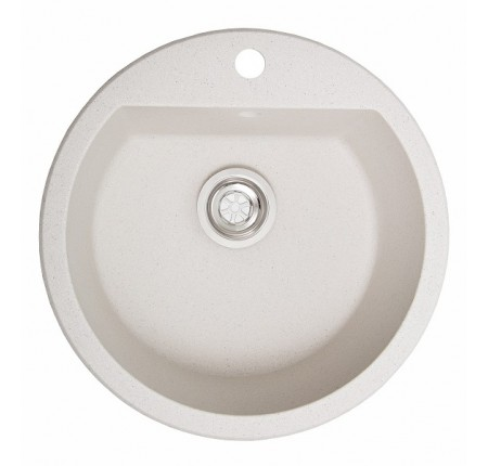 Мойка для кухни Solid Раунд (белый) D510mm