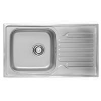 Мойка для кухни ULA 7204 ZS Satin 08