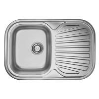 Мойка для кухни ULA 7707 ZS Satin 08