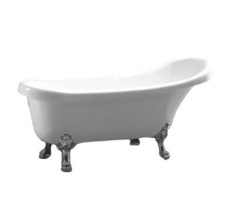 Ванна отдельно стоящая Atlantis C-3015 White серебро (без перелива) 170х70