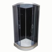 Гидромассажный бокс Atlantis AKL 50P-T ECO 90x90x220 черный