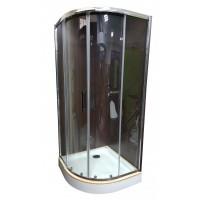 Душевая кабина Veronis KN-3-80 PREMIUM 80х80х204, прозрачное стекло