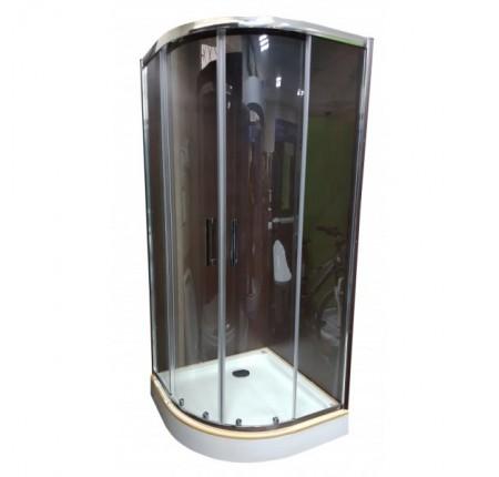 Душевая кабина Veronis KN-3-100 PREMIUM 100х100х204, прозрачное стекло