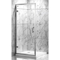 Душевая дверь Veronis D-7-80 80х190, прозрачное стекло