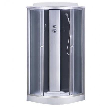 Гидромассажный бокс Sansa 6690A/15 90x90x215 стекло серое