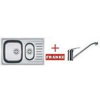 Мойка для кухни Franke Polar PXL 651-78 101.0265.024 + смеситель Narew 35