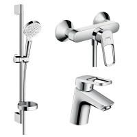 Набор для ванной комнаты Hansgrohe Logis Loop 1052019
