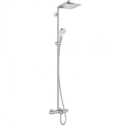 Душевая система Hansgrohe Crometta E 240 1jet Showerpip 27298000