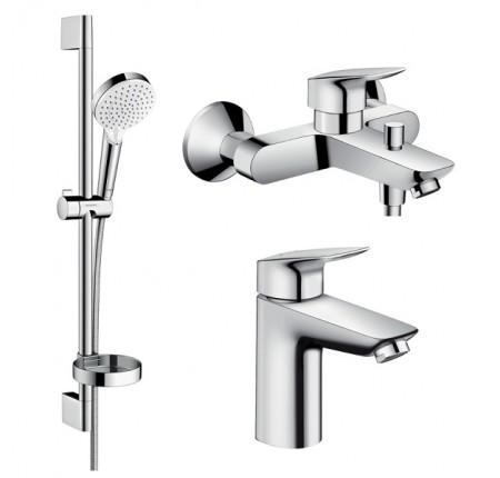 Набор для ванной комнаты Hansgrohe Logis Loop 1082019 для ванны