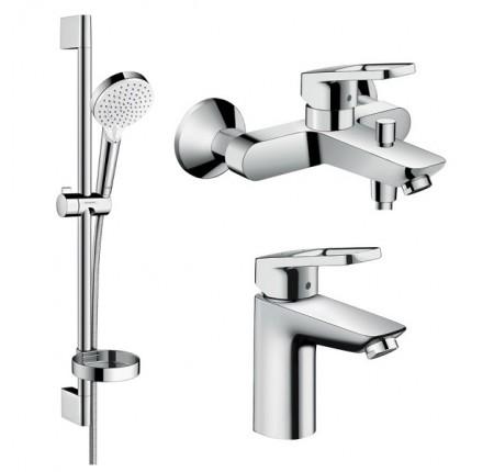 Набор для ванной комнаты Hansgrohe Logis Loop 1062019 для ванны