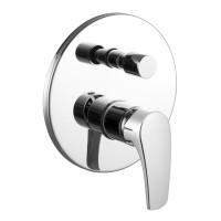 Смеситель скрытого монтажа для ванны Imprese Jesenik VR-31140