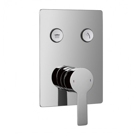 Смеситель скрытого монтажа для душа с термостатом Imprese Smart Click ZMK101901201