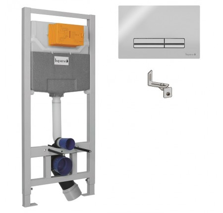 Инсталляция для унитаза Imprese i9109 (клавиша PANI хром)