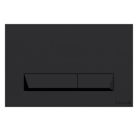 Кнопка смыва Imprese i8040B PAN Laska Black Soft Touch