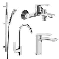 Набор (4 в 1) для ванны и кухни Imprese Kampa 51028555