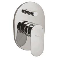 Смеситель скрытого монтажа для ванны Jaquar Opal Prime OPP-CHR-15065KPM