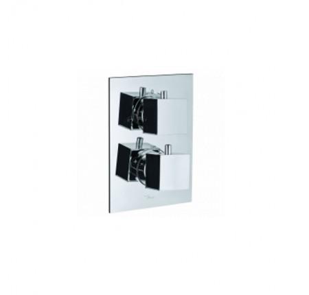 Термостат для ванны и душа Jaquar Kubix KUB-CHR-35671HF