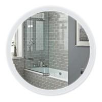 Зеркало Q-Tap Mideya LED DC-F807 с антизапотеванием 600x600