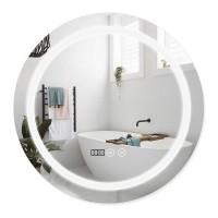 Зеркало Q-Tap Mideya LED DC-F803 с антизапотеванием 600x600