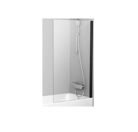Шторка для ванны Ravak PVS1-80 черный transparent (79840300Z1)