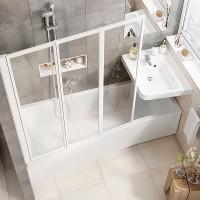 Ванна асимметричная Ravak BeHappy II 150x75 L/R