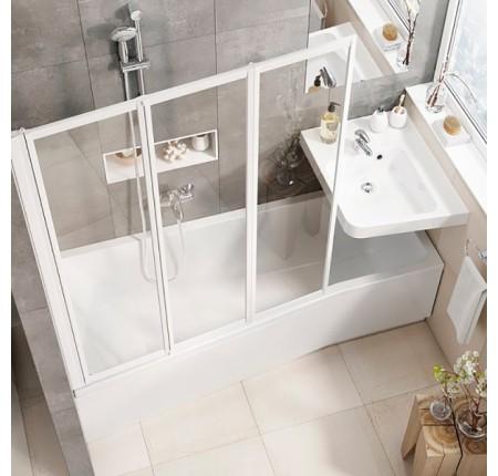Ванна асимметричная Ravak BeHappy II 160x75 L/R