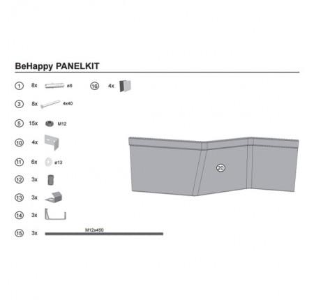 Крепление для панели ванны Ravak BeHappy 2 B28100000N