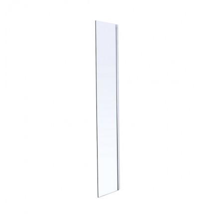 Стенка Volle 18-07-40 Walk-In 40x190см, каленое прозрачное стекло 8мм